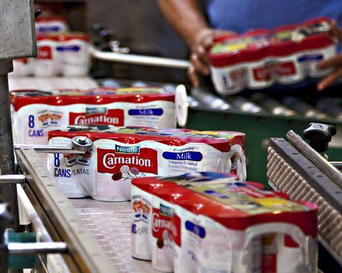 Nestle's Carnation Milk Production in Modesto
