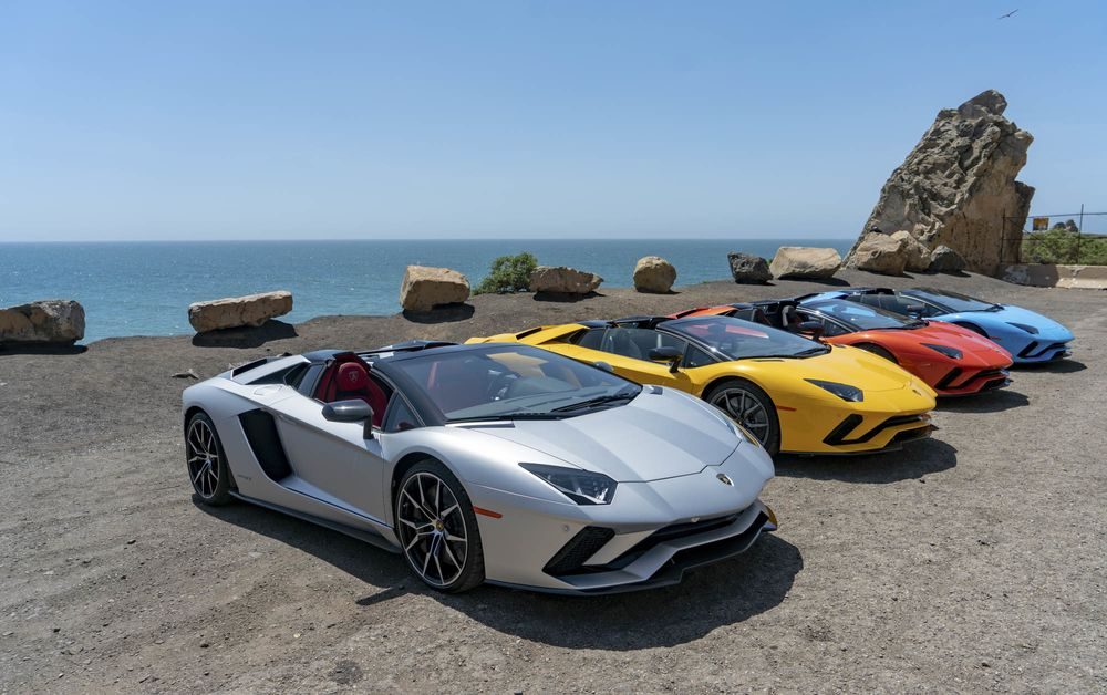 Lamborghini Aventador S Roadster Convertible Review Bloomberg