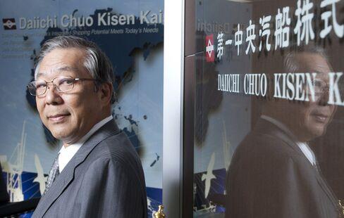 Daiichi Chuo Kisen Kaisha President Masakazu Yakushiji. Photographer: Tomohiro Ohsumi/Bloomberg