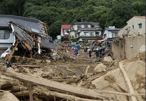 Landslides in Hiroshima