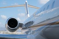 Media Viewing Of Bombardier Global 6000 Business Aircraft