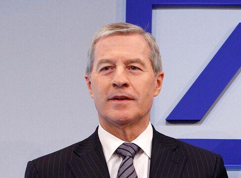 Co-chief Executive Officer of Deutsche Bank AG Juergen Fitschen