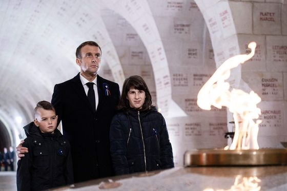 Macron Fears Europe's War Demons as Change Enrages Voters