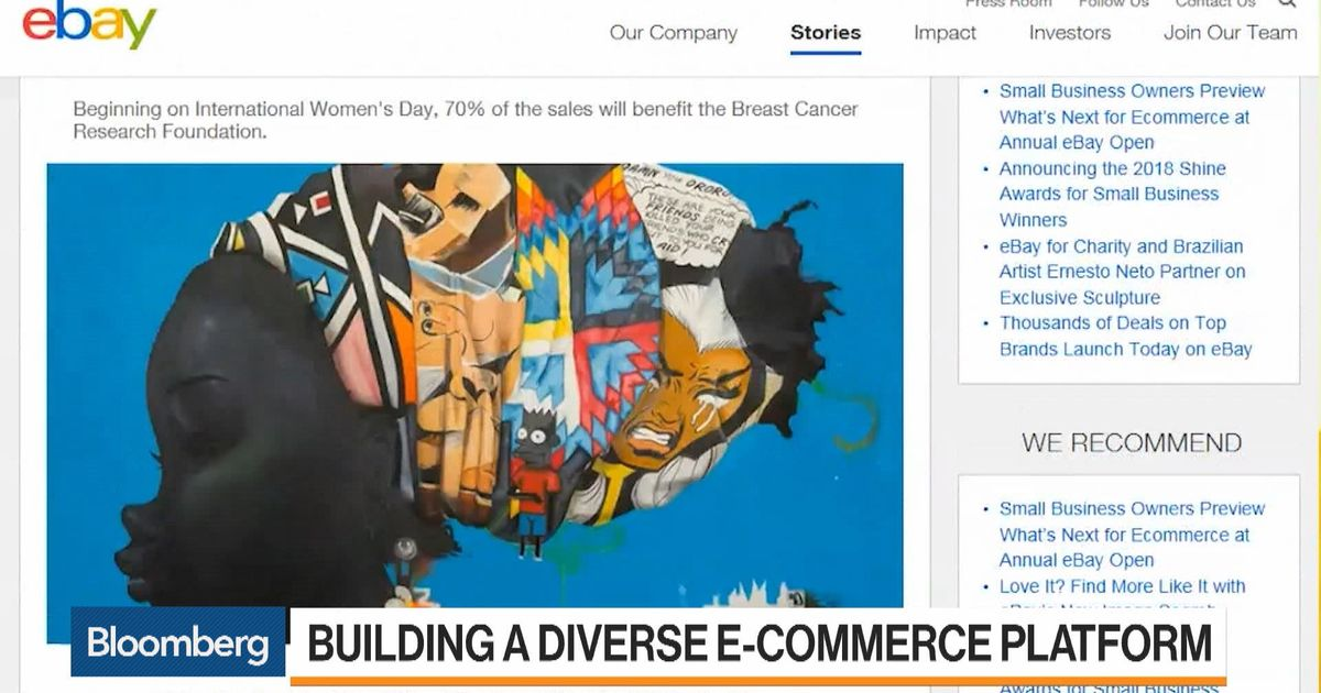 How Ebay Builds A Diverse E Commerce Platform Bloomberg