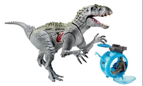 Jurassic World Chomping Indominus Rex Toy by Hasbro.