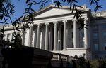 U.S. Treasury Building In Washington