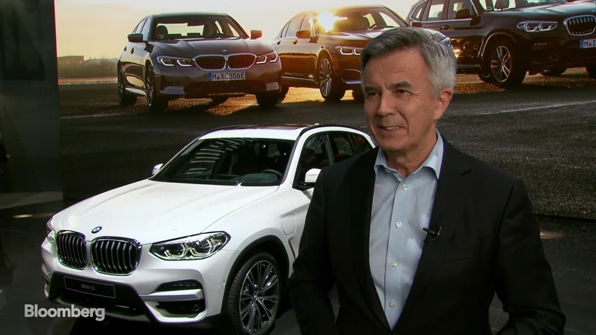 BMW's Schwarzenbauer on Electrification, Car Sharing, Auto Tariffs