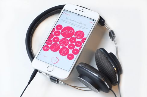 Telling Apple Music what you like is as easy as tapping bubbles. It's strange, but it works.