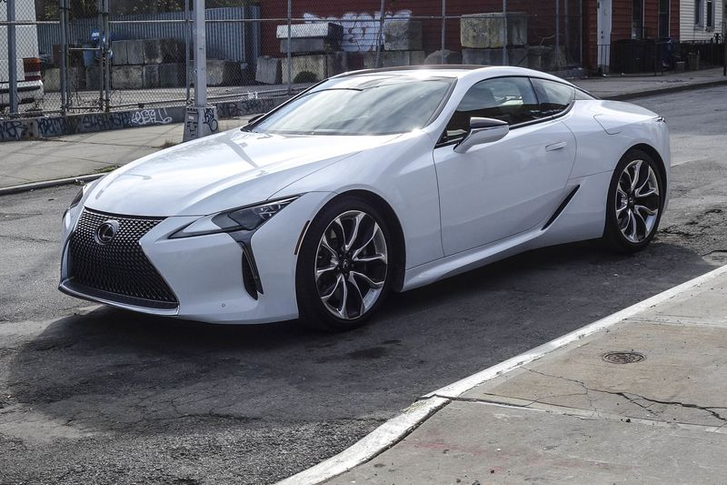 lexus lc 500 white. the re-designed lc500 looks great, and has garnered many fans in its short time on public stage. lexus lc 500 white l