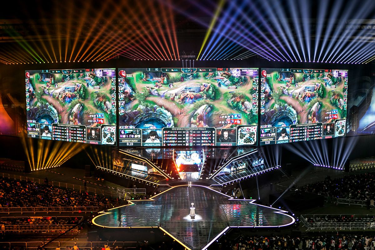 Inside The World Cup Of E Sports Bloomberg
