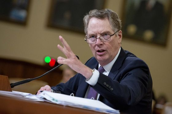 Robert Lighthizer Signals More U.S. Caution on China Currency Deal