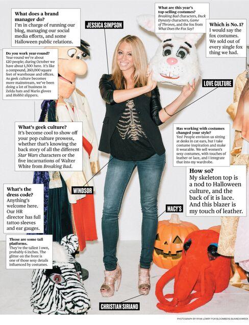 What I Wear to Work: Aleksandra Sobic of HalloweenCostumes.com