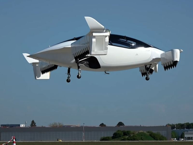 relates to Jet-Powered Flying Taxi Unveiled Following First Flight
