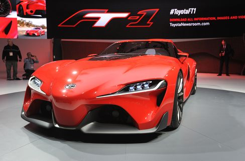 Toyota Motor Corp. FT-1 Coupe