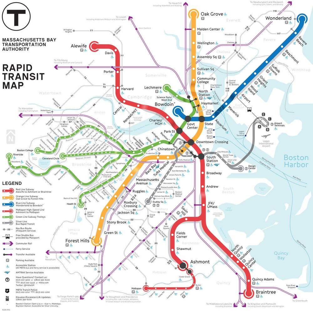 subway map in boston Map Battle Of The Day Pick Boston S Best Subway Map Redesign