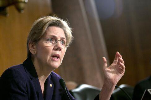 Warren Says Republicans Want to Weaken U.S. Consumer Bureau