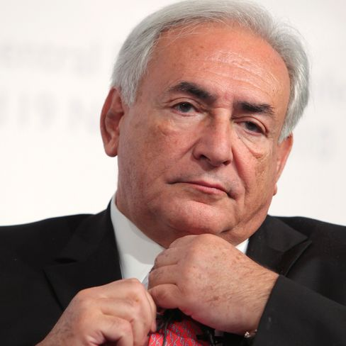Dominique Strauss-Kahn managing director of the IMF