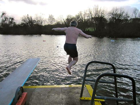 Highgate Ponds Extreme Swimmer