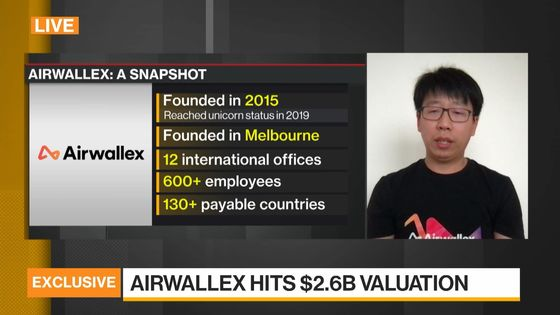 Airwallex Fetches $2.6 Billion Valuation in Funding Round