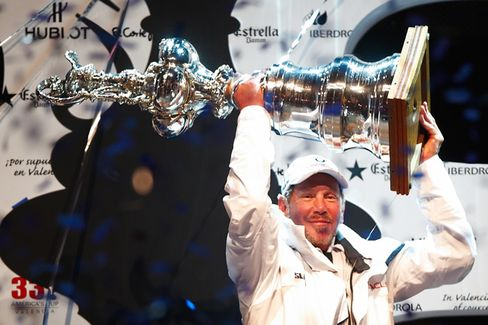 How Larry Ellison Sabotaged His Own America's Cup Party