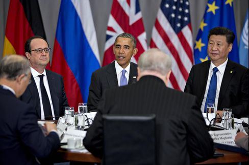 Barack Obama speaks at the Nuclear Security Summit on April 1.