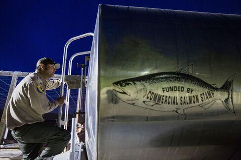 Transporting Salmon