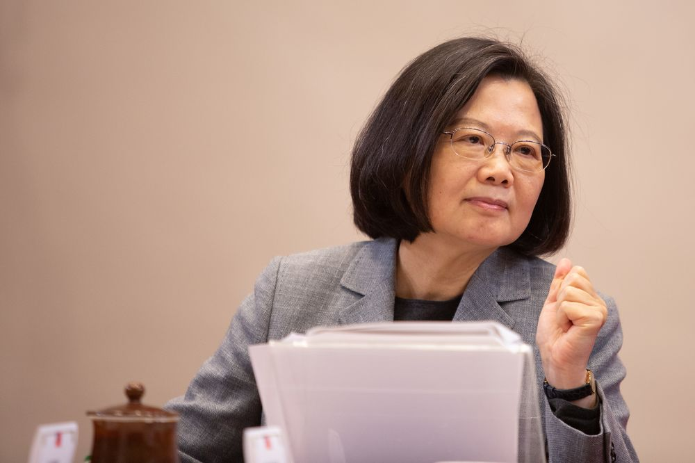 Tsai Ing-wenwas among the first to congratulate Biden and Vice President-electKamala Harrison their election victory.
