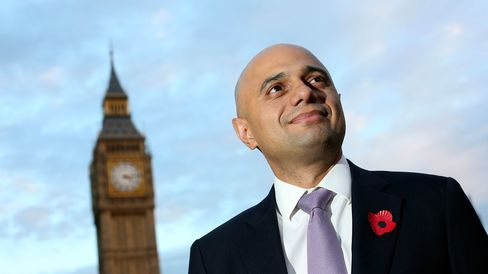 Sajid Javid, who quit a job as a senior managing director at Deutsche Bank AG in 2010, won with more than 50 percent of the votes, extending a 32-year stint for the Tories from his Midlands constituency.