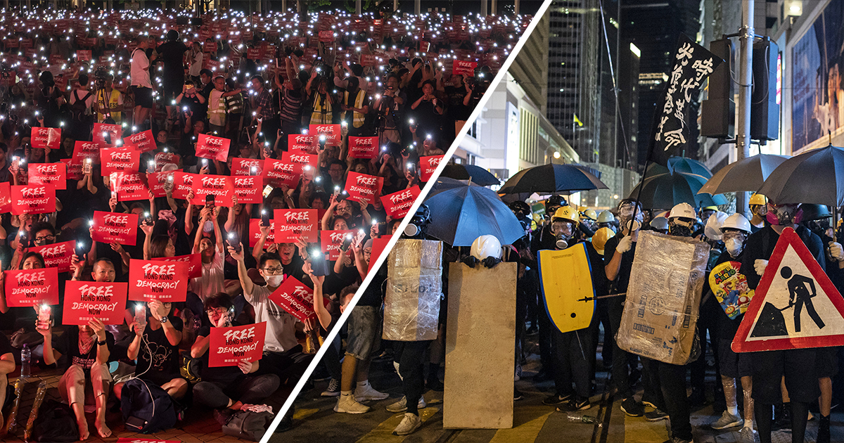 How Months of Protests Have Unfolded in Hong Kong