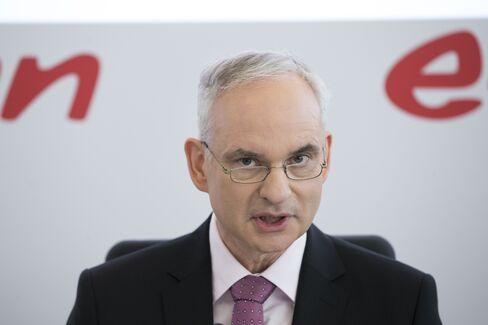 Johannes Teyssen speaks on March 9.