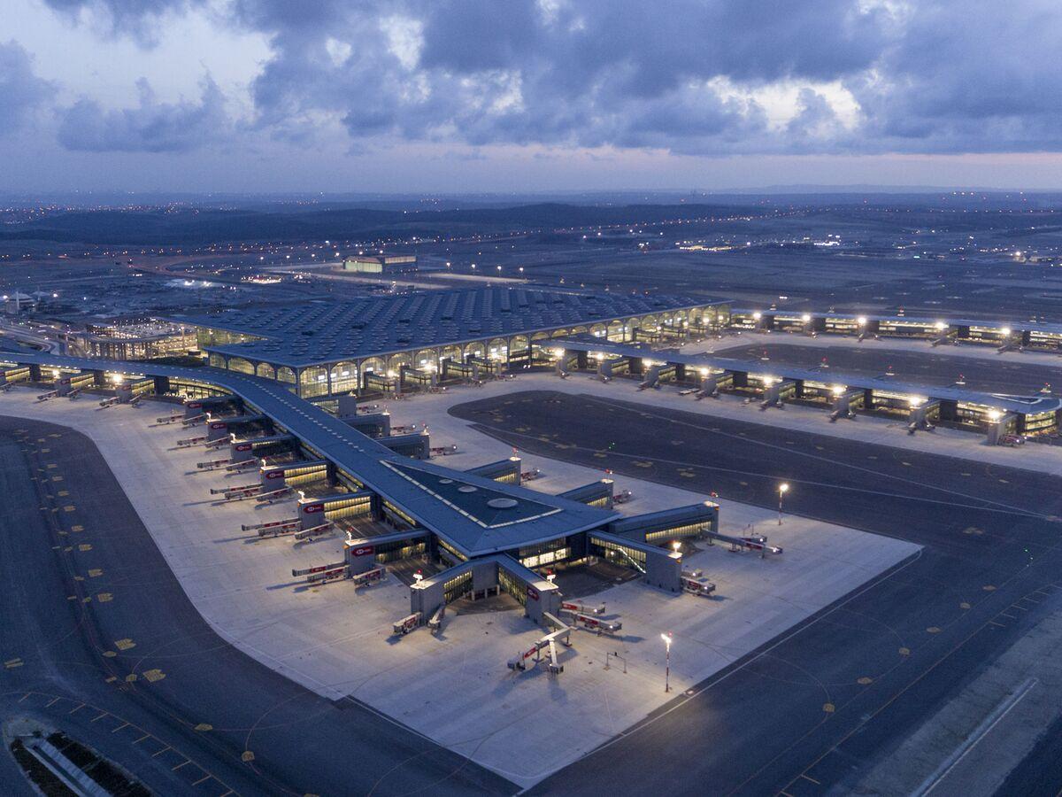 Europas största flygplatser - Istanbul Airport