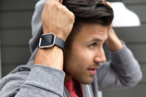 The Blaze is Fitbit's first wearable that looks like a full-on smartwatch.