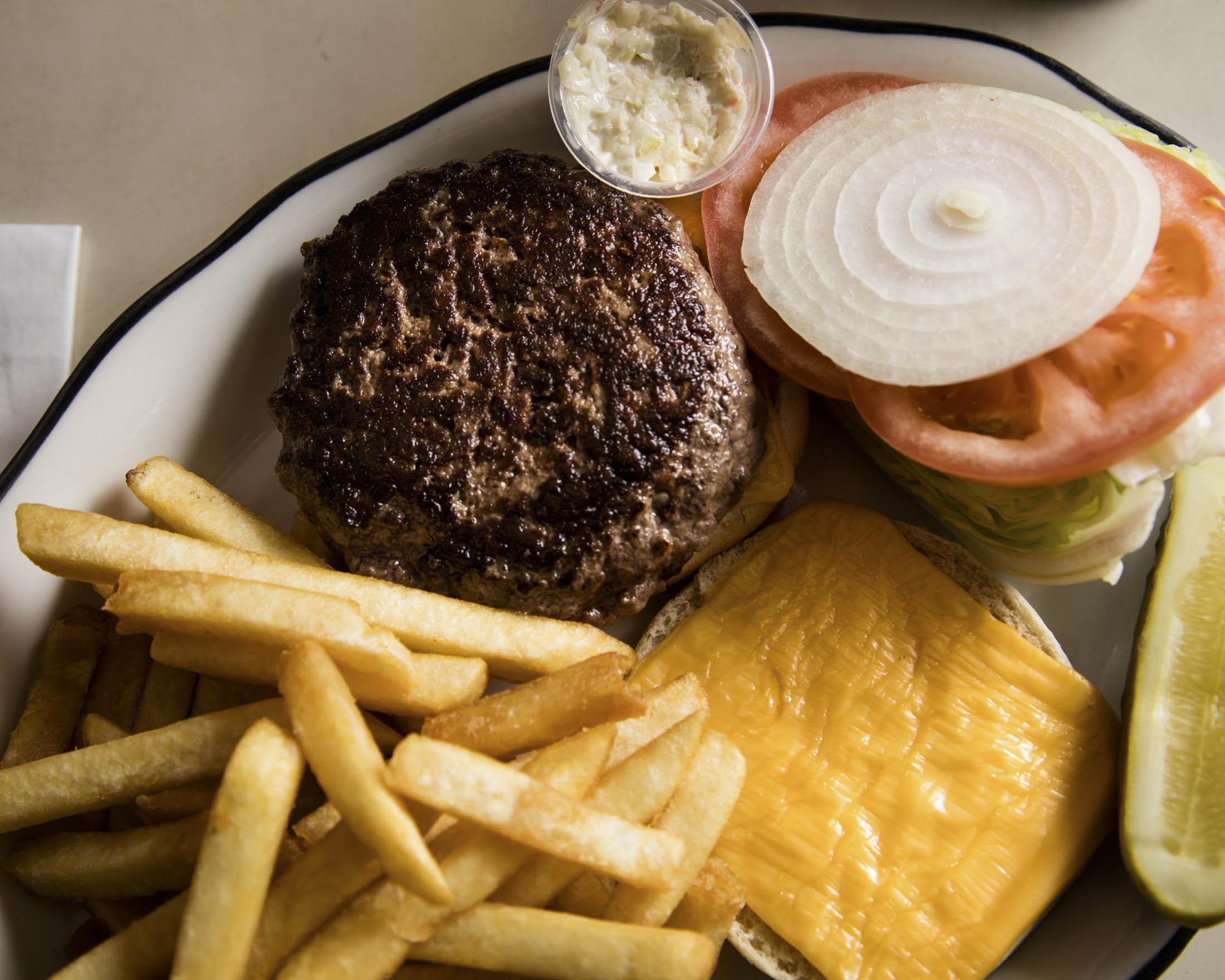 The Cheeseburger at Joe Jr.