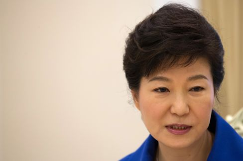 South Korean President Park Geun Hye