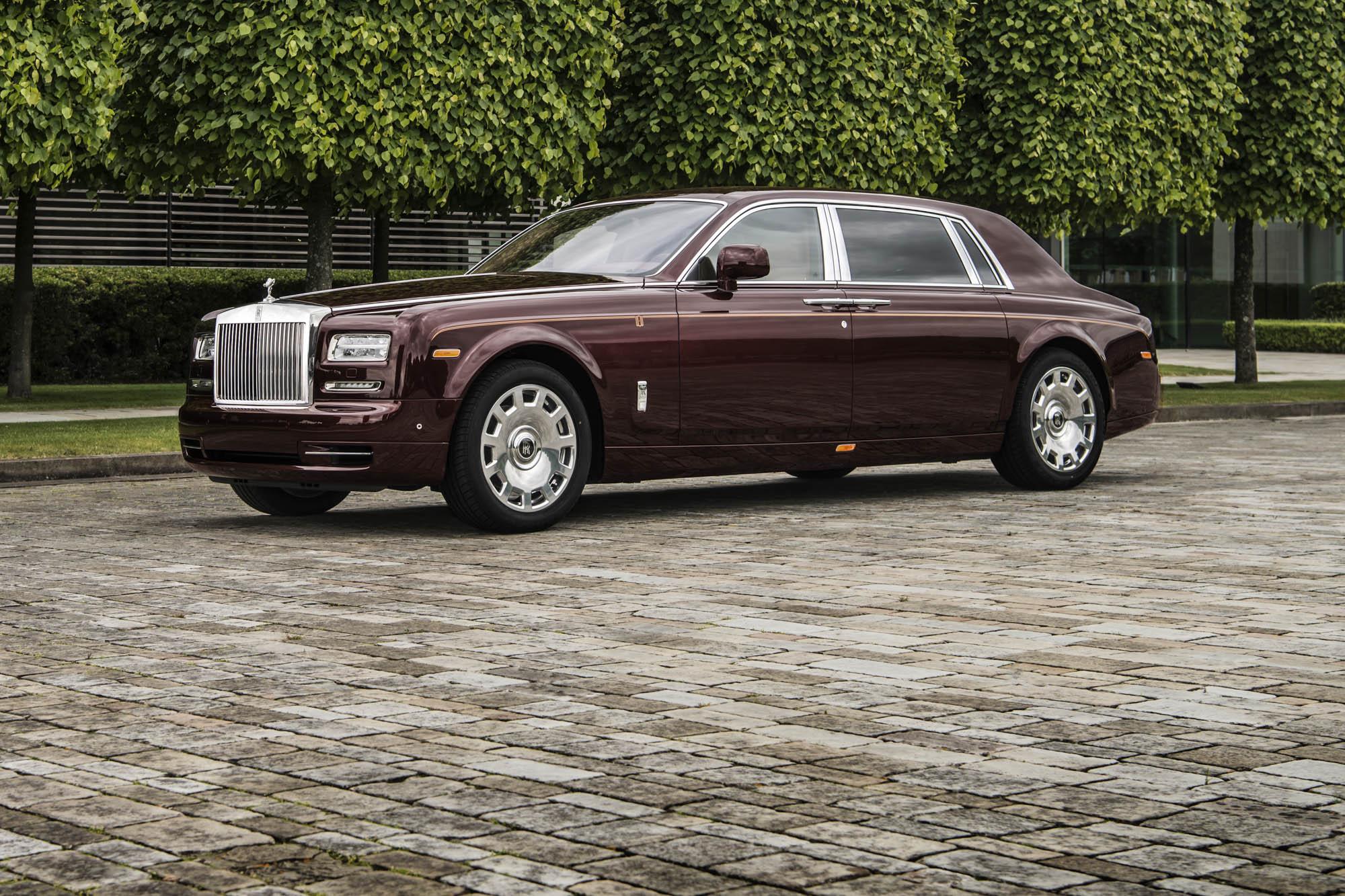 The Peace and Glory Rolls-Royce Phantom