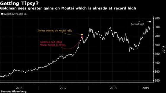Last Time Goldman Loved Moutai This Much, It Didn't End Well
