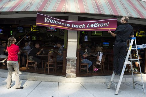 Welcoming LeBron Back to Cleveland