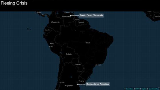 For Venezuelans Fleeing Crisis, Argentina Proves a Tough Start
