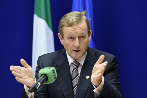 Ireland's Prime Minister Enda Kenny