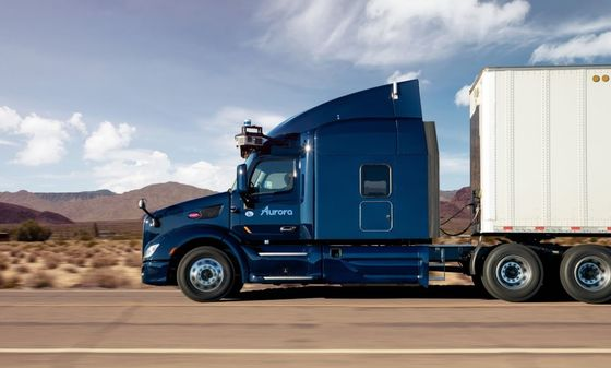 Aurora Gets Autonomous-Truck Validation in Paccar Deal