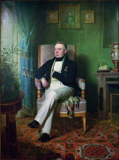 Salomon M. v.Rothschild / Gemlde - Salomon M. v. Rothschild / Painting -