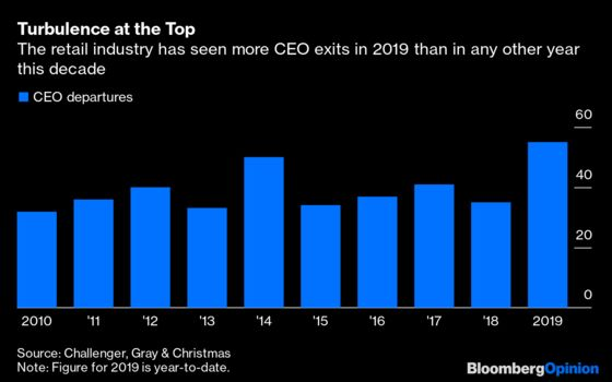 The Retail Apocalypse Confronts a New Crop of CEOs