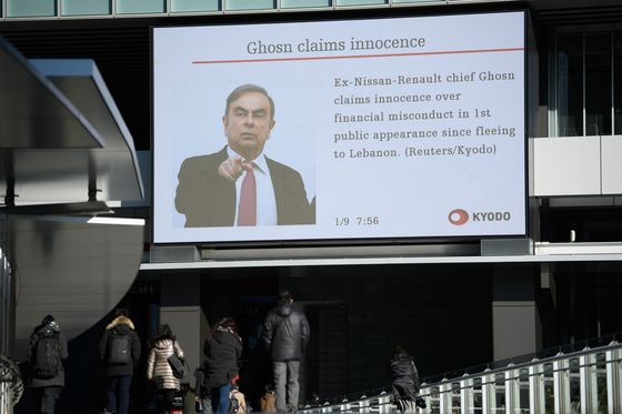 Japan's Public Isn't Buying Carlos Ghosn's Arguments, Poll Shows