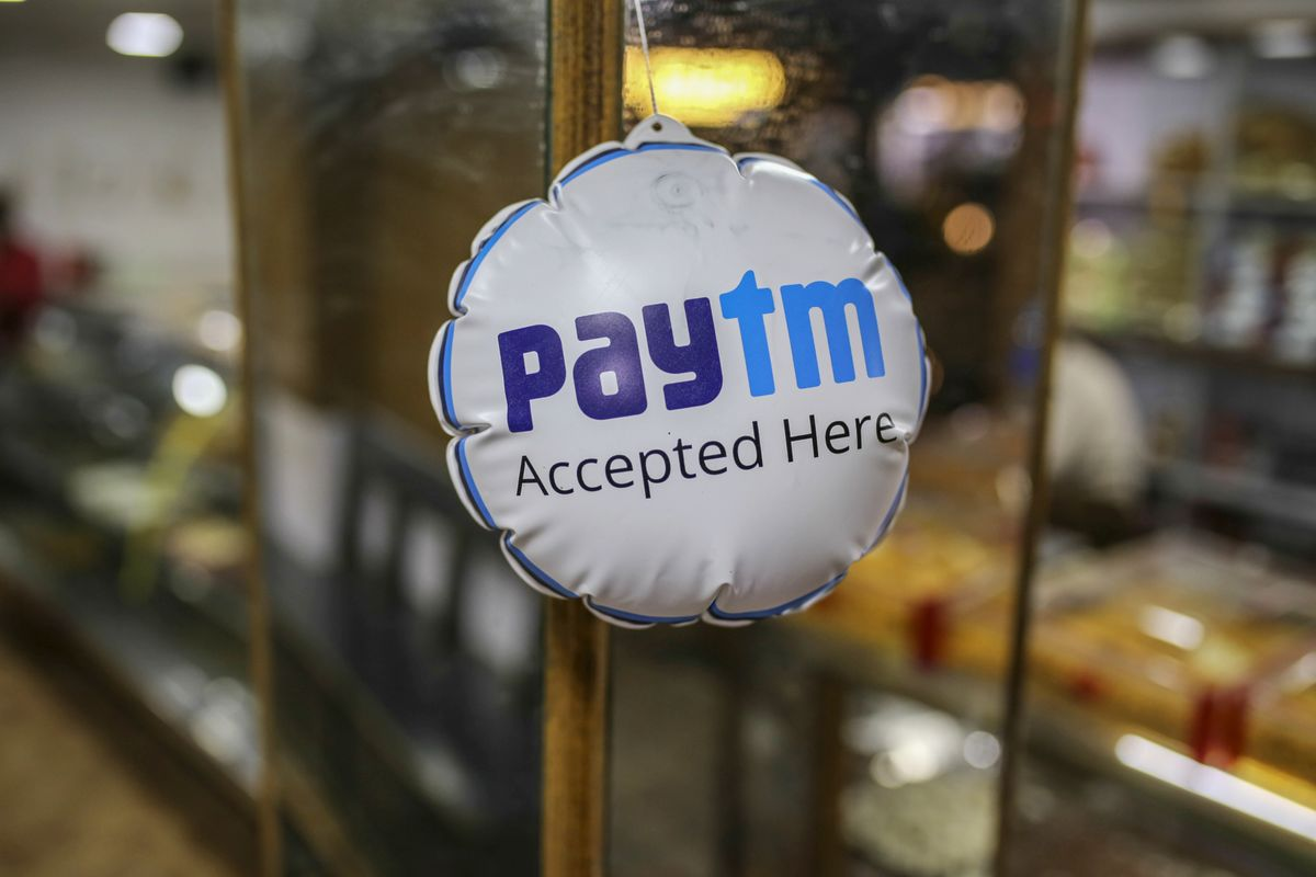 Paytm Nears $2 Billion From Backers Including SoftBank, Ant