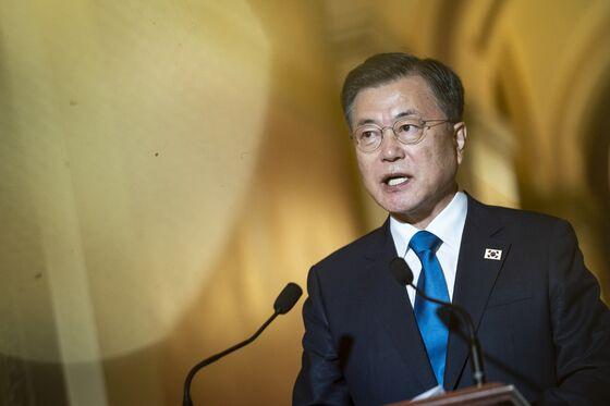 North Korea Strategy Tops Agenda at Biden-Moon Summit Friday