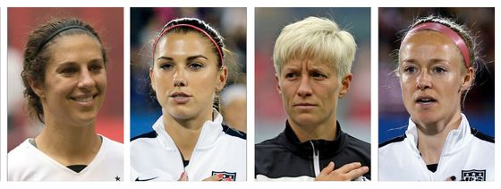 U.S. Soccer Says Women Suing Over Pay Make More Than Men