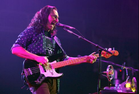 Rush Lead Singer Geddy Lee