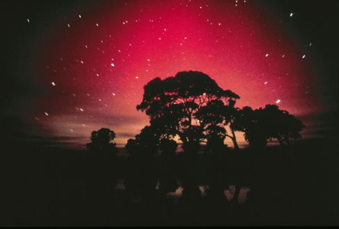 The Southern Lights as seen in Southern Australia