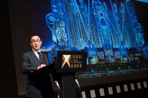 Melco Crown CEO Lawrence Ho