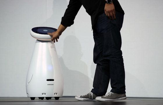 Samsung Shows Off Robots for Health Care and Retail Stores